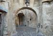 Sighisoara, walk under the arches
