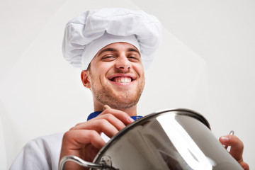 Professional chef portrait