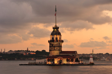 Maiden Tower - Maiden's Tower - Leandros Tower - Kızkulesi