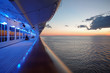 Cruise Ship Deck at Sunset - 43058817