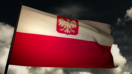 Flag Poland 02