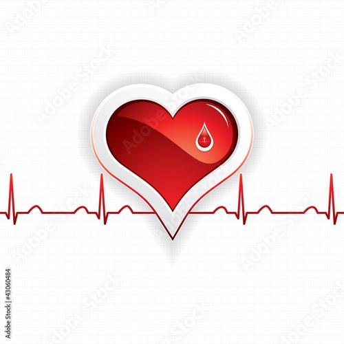 献血手绘图