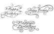 Calligraphic embellishments