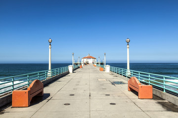 beautiful pier in California