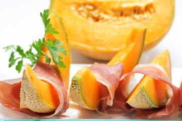 Prosciutto e melone - Ham and melon