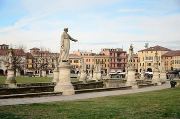 Prato della Valle in Padova, Italy