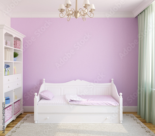 Interior of toddler room.