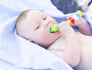 Infant eating toy