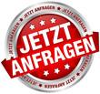 "Button Banner ""Jetzt anfragen"" rot/silber"
