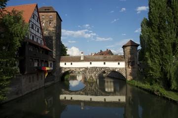 Weinstadel, Wasserturm und Henkersteg, Nürnberg