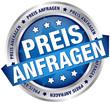 """Button Banner """"Preis anfragen"""" blau/silber"""