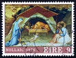 Postage stamp Ireland 1976 Nativity by Lorenzo Monaco