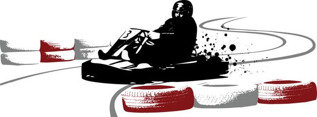 Go-kart illustration