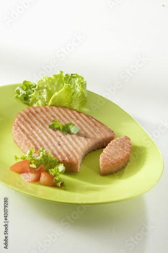Steak haché de jambon