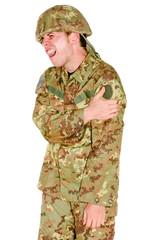 soldato addolorante
