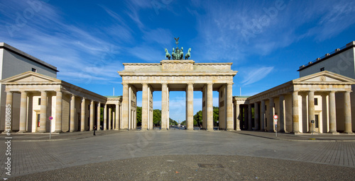 Panorama of the Brandenburger Tor