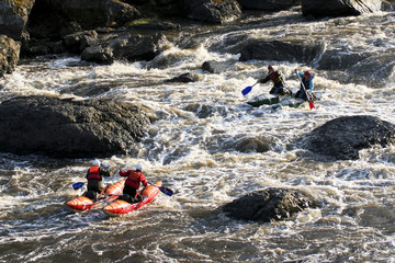 Raft in Russia