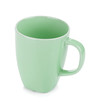 Light green coffee cup