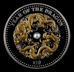 Investment coin silver 2012 Year of the Dragon