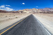 Artists drive road in Death Valley