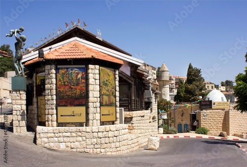 an art gallery in the old Safed