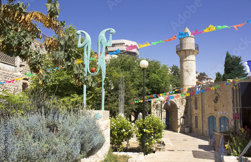 Mosque in Safed, Israel
