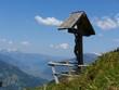 Wegkreuz in den Alpen
