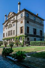 Ancient villa Foscari La Malcontenta garden  in Veneto, Northern