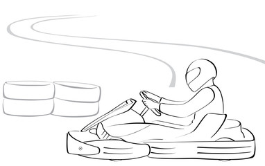 Go-kart illustration