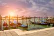 Sonnenuntergang im Venedig