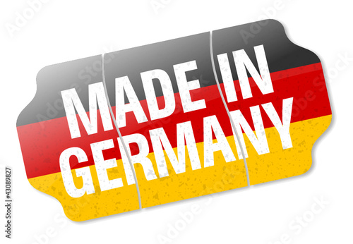 Price Tag - Made In Germany