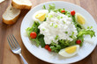 Salad with Cottage Cheese