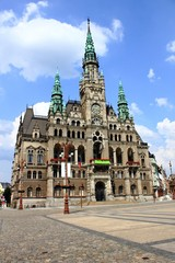 Liberec Town Hall in Czech Republic