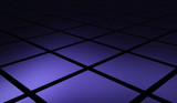 Quader Matrix diagonal violett schwarz 03
