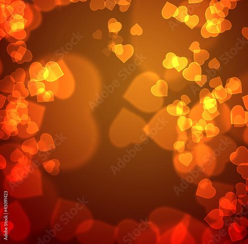 Grusskarte der hundert Herzen