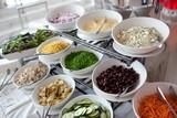 Salad Bar Condiments poster
