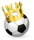 King of football soccer