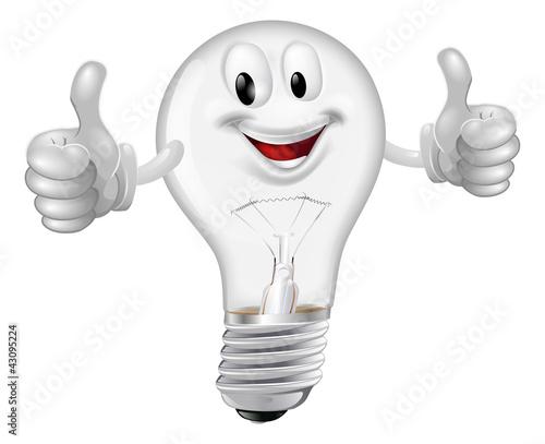 Lightbulb man