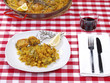 Paella in a Restaurant