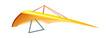 vector icon hang glider