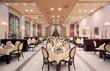 Modern hotel restaurant interior - 43097275