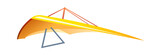 vector icon hang glider