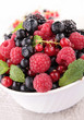 bowl of berries fruits