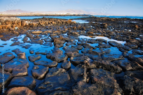 Low tide on the edge of El Cotillo, Fuerteventura