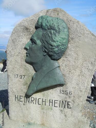 Heinrich Heine Skulptur auf dem Brocken