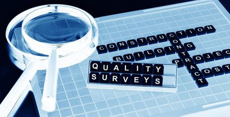 Quality surveying concept