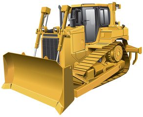 light-brown dozer