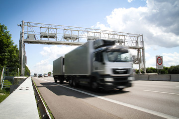 Lkw Maut / Transport