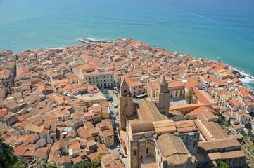 View of Cefalu