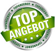 """Button Banner """"Topangebot"""" grün/silber"""